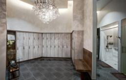 Luxurious BMF Ladies Locker Room