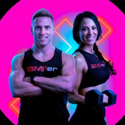 BMF rockstar trainers, Mario Schill & Jeanny Gallo